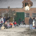 Weihnachtsgottesdienst auf dem Bioland-Hof Strotdrees